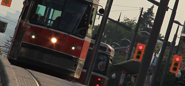 Streetcar Passing Sound Effect