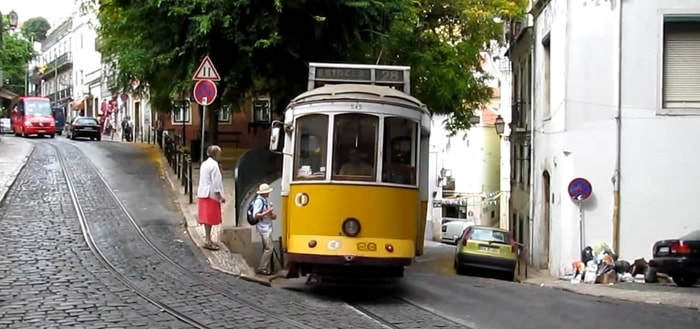 Tram Passing Sound Effect