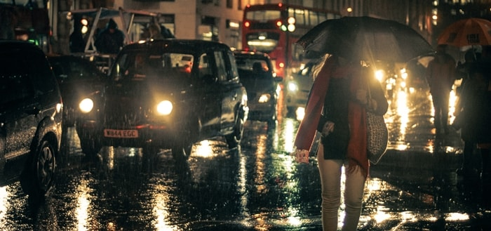 Rain Noise In The City   Free Sound Effects   Ambient Sounds
