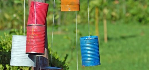 Tin Can Wind Chimes Sounds