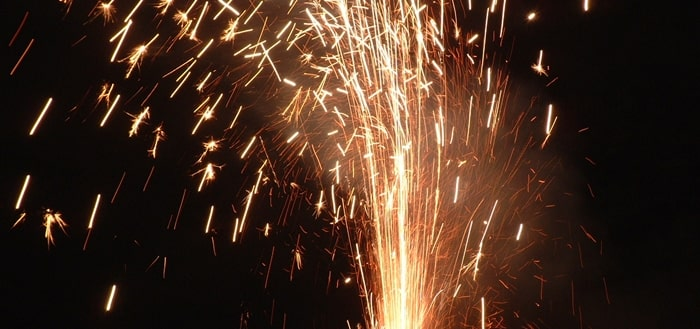 New Year Firecracker Sound Effect
