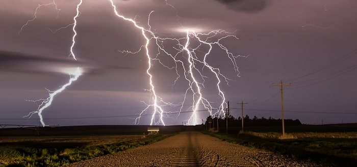 Lightning Strike Sound Effect | Free Sound Clips | Ambient Sounds