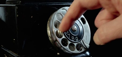 Rotary Phone Dialing