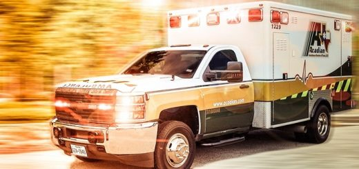 Ambulance Passing with Siren Sound Effect
