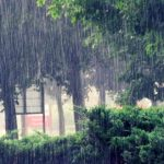 Heavy Summer Rain with Thunder Sounds