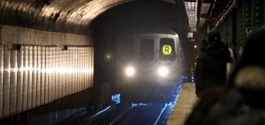 Metro Train Coming