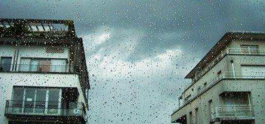 Rain Storm in the City