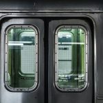 Subway Metro Train Door Closing with Warning Beeps Sound