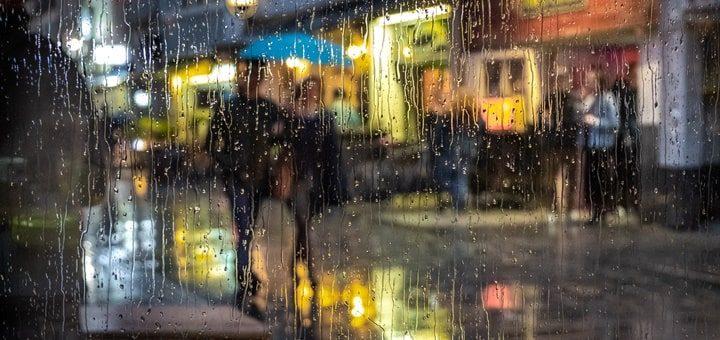 City Storm Sound Effect