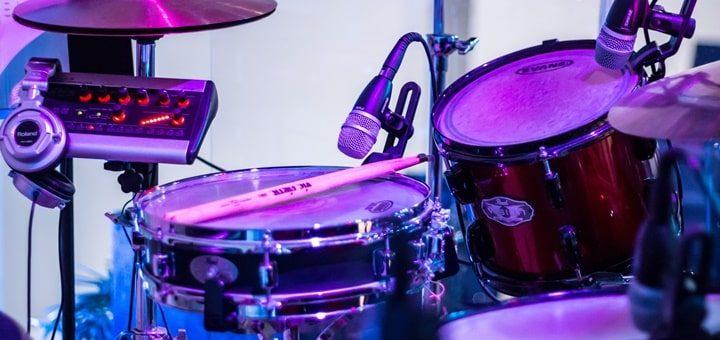 Drum Beat 90 bpm with Reverb