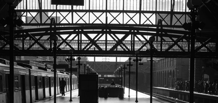 Train Station Ambience Sound Effect