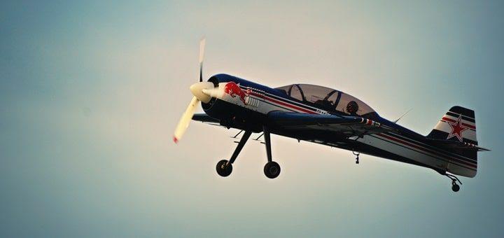 Propeller Plane Fly Over Sound Effect