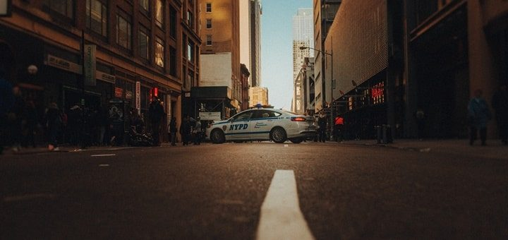New York Police Car Siren Sound Effect